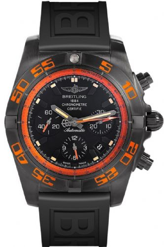 BREITLING Chronomat 44 Raven AUTO Chronograph Gents Watch MB0111C2/BD07/153S